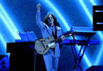 Jack White performs live in Las Vegas.