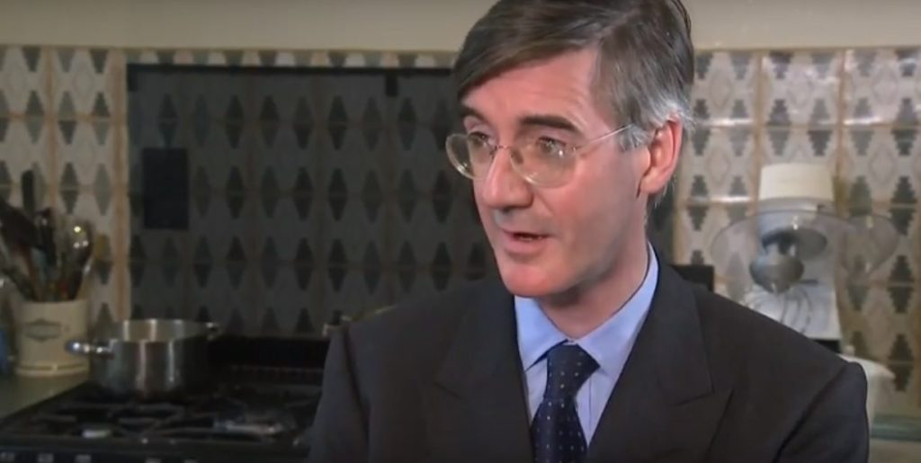 Jacob Rees-Mogg quizzed on gay parenting