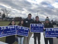 JD Ford is the first gay man to become a state legislator in Indiana.