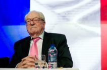 Jean-Marie Le Pen of France's National Front