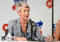 Katie Hopkins of Rebel Media speaks at Politicon