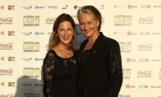 Kerryn Phelps and Jackie Striker-Phelps