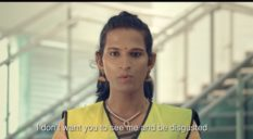 One of the group of trans workers hired by Kochi Metro