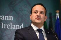 Ireland's Prime Minister Leo Varadkar holds a press conference after the European Council on December 14, 2018, in Brussels.