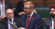 Lloyd Russell-Moyle MP speaks to Parliament