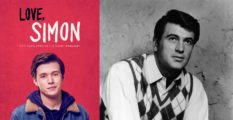 L - Love, Simon, R - Rock Hudson (Hulton Archive/Getty)