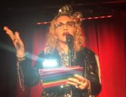 Madonna speaks at the Stonewall Inn