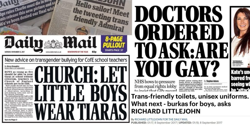 12 ridiculous times the Daily Mail got upset about LGBT