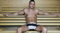 Gay sauna testing temperatures in a bid to control coronavirus