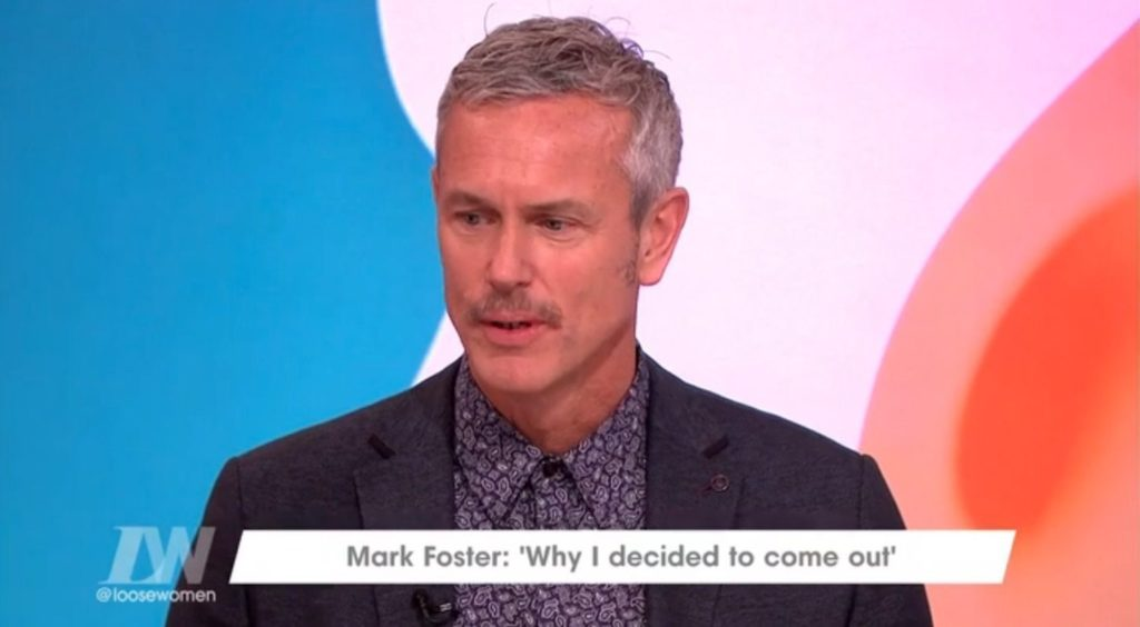 Mark Foster came out as gay this year