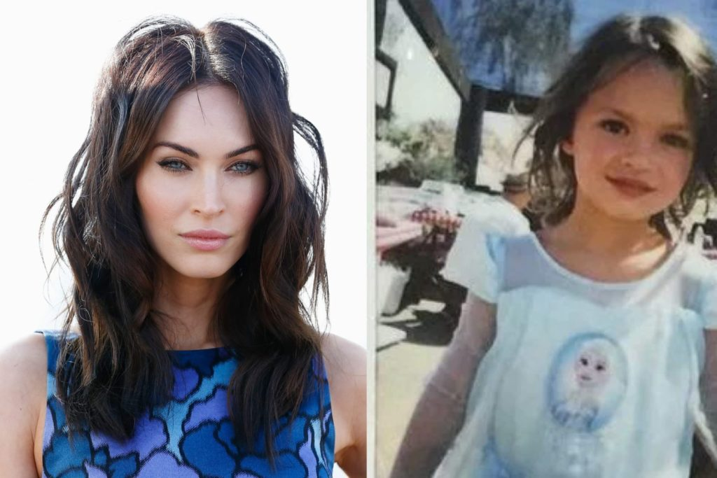Megan Fox let her son ...