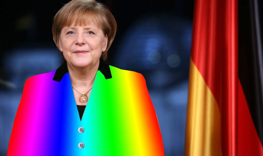 Angela Merkel on the spectrum