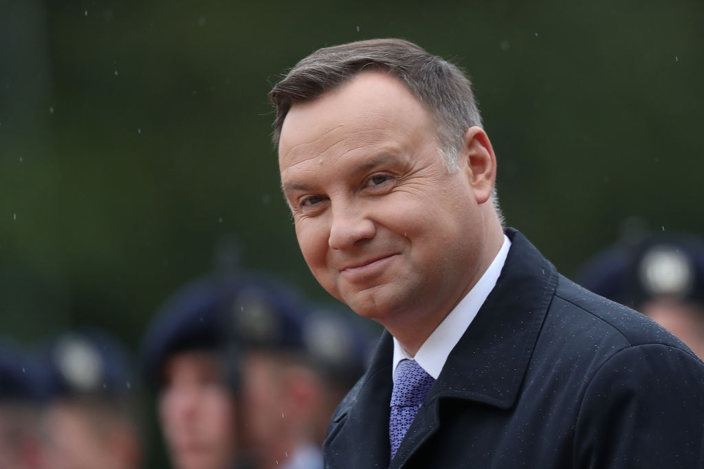 Polish President Duda would consider ban on gay propaganda