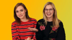 Bisexual and lesbian YouTubers Rose and Rose (PinkNews)