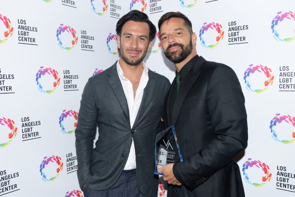 Jwan Yosef and Ricky Martin have welcomed a baby daughter