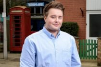 Riley Carter Millington as Kyle Slater in 'Eastenders'