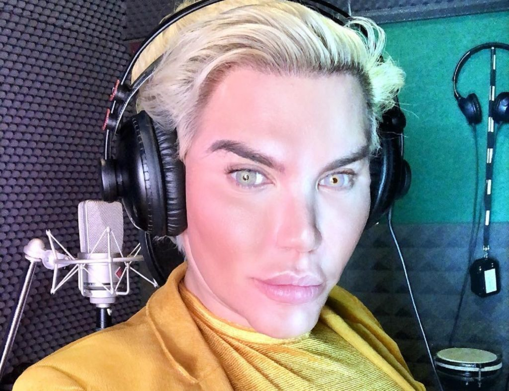 Human Ken Doll reality star Rodrigo Alves