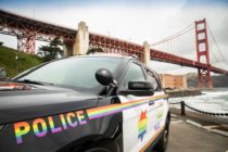 San Francisco Police Department's Pride-themed patrol car
