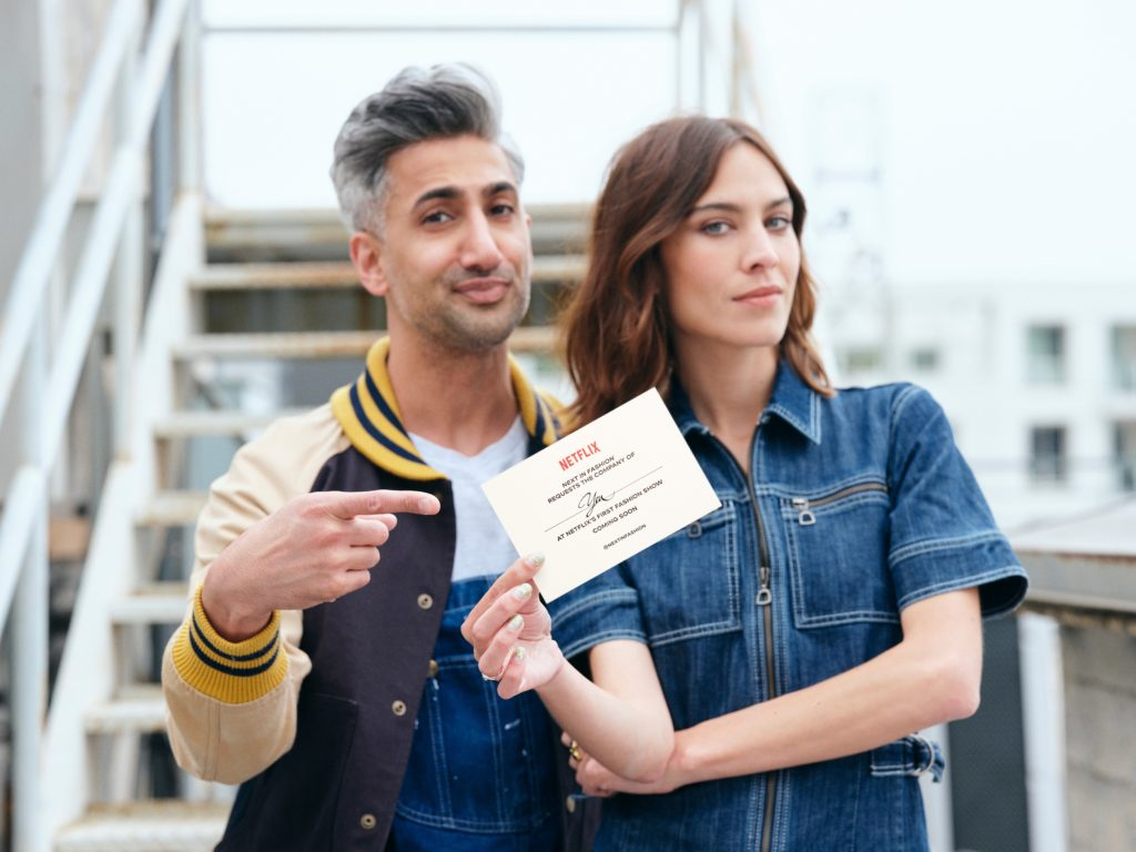 Tan France and Alexa Chung are hosting Next in Fashion