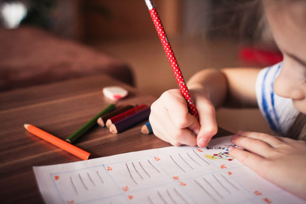 A school student. A recent survey has found that more than two thirds of students have no grounding in LGBT issues