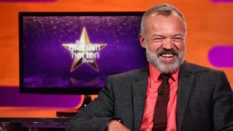Graham Norton, laughing