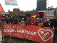 Protesters call for equal marriage in Northern Ireland