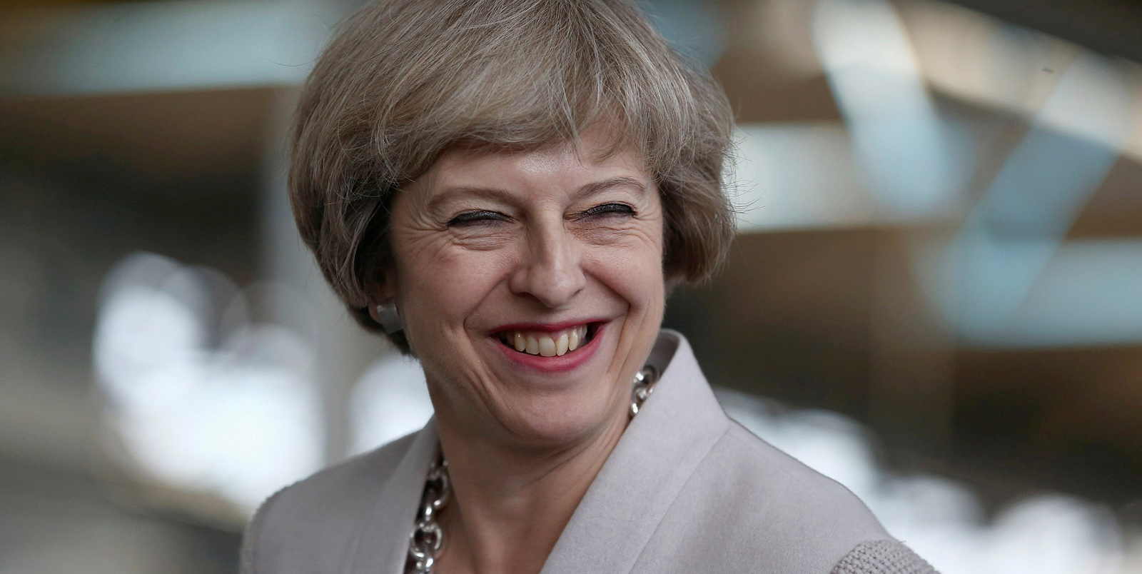 Prime Minister Theresa May Visits A Manufacturing Workshop