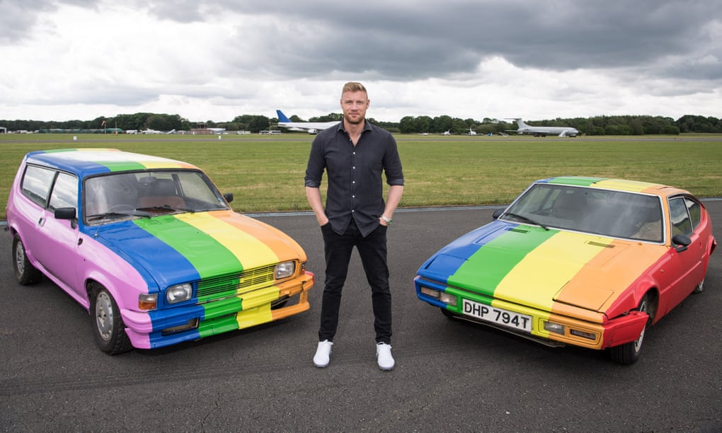 Top Gear paints Pride flag on cars used in Brunei episode