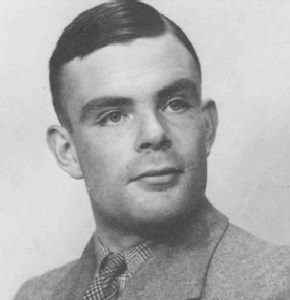 Computer scientist Alan Turing