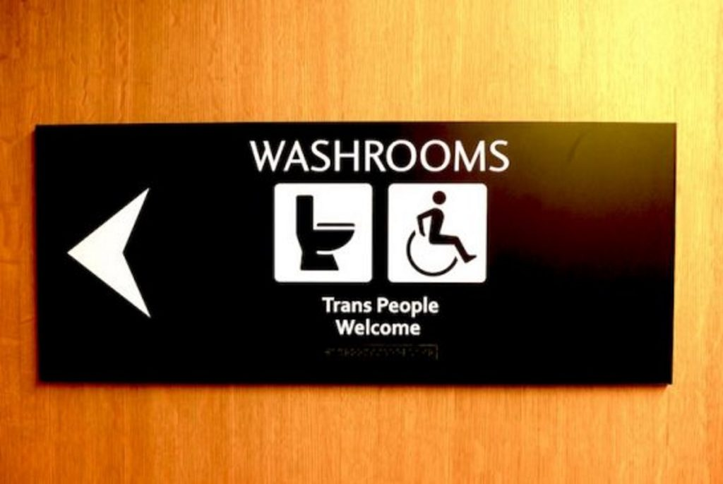 Trans-friendly toilets