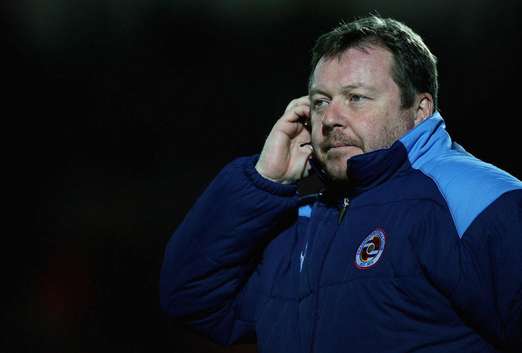 New AFC Wimbledon manager Wally Downes