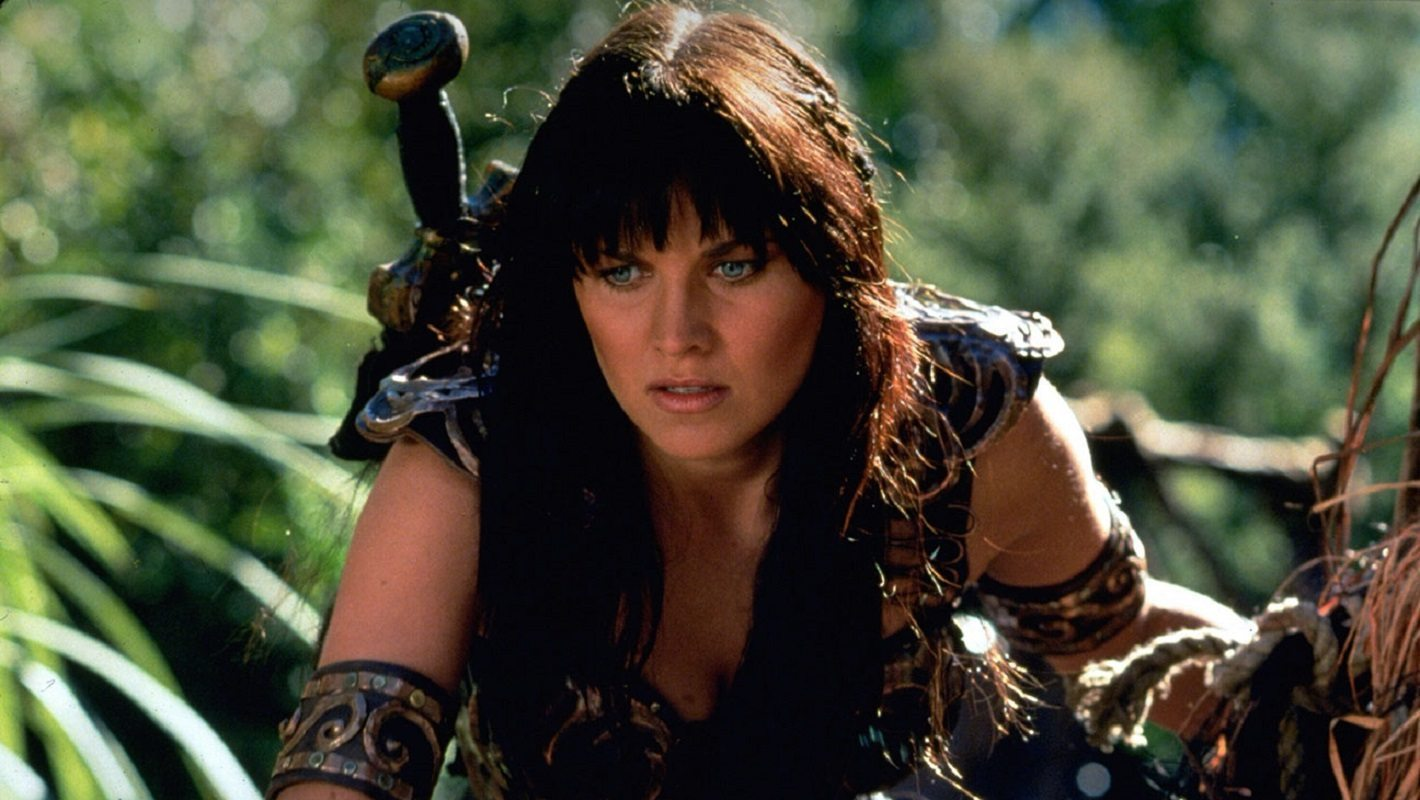 Lucy Lawless as Xena: Warrior Princess