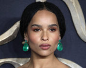 Zoe Kravitz at the UK premiere of Fantastic Beasts
