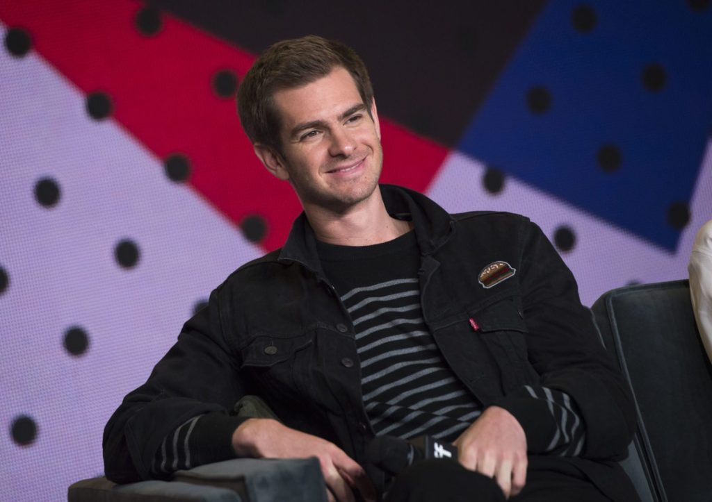 Andrew Garfield at the Breathe press conference (VALERIE MACON/AFP/Getty Images)