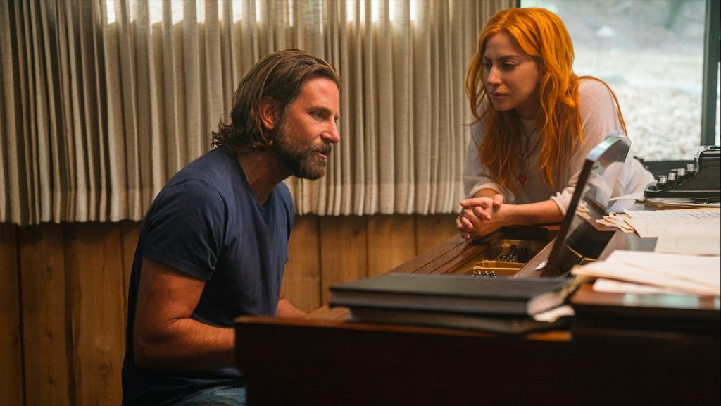 A Star is Born stars Lady Gaga and Bradley Cooper