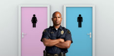 Trans bathroom cop