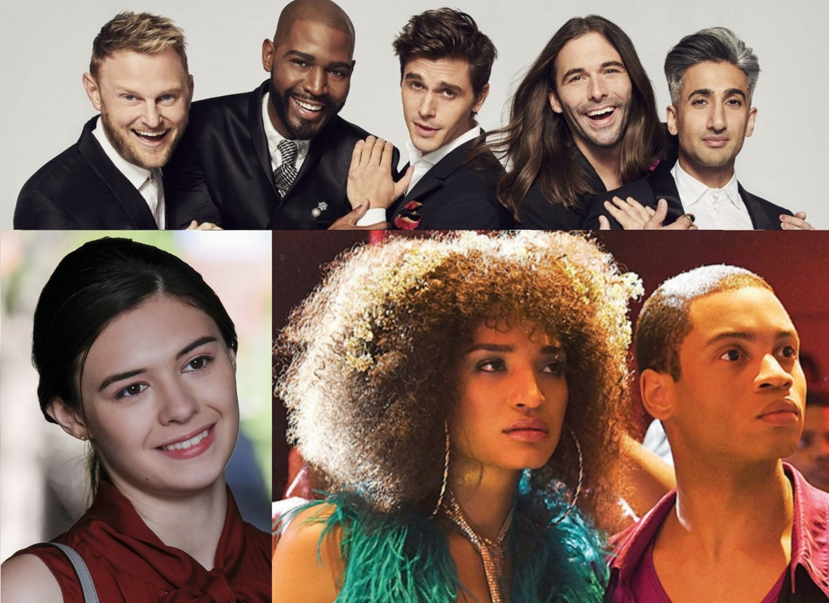 The stars from queer shows Supergirl, Queer Eye and Pose