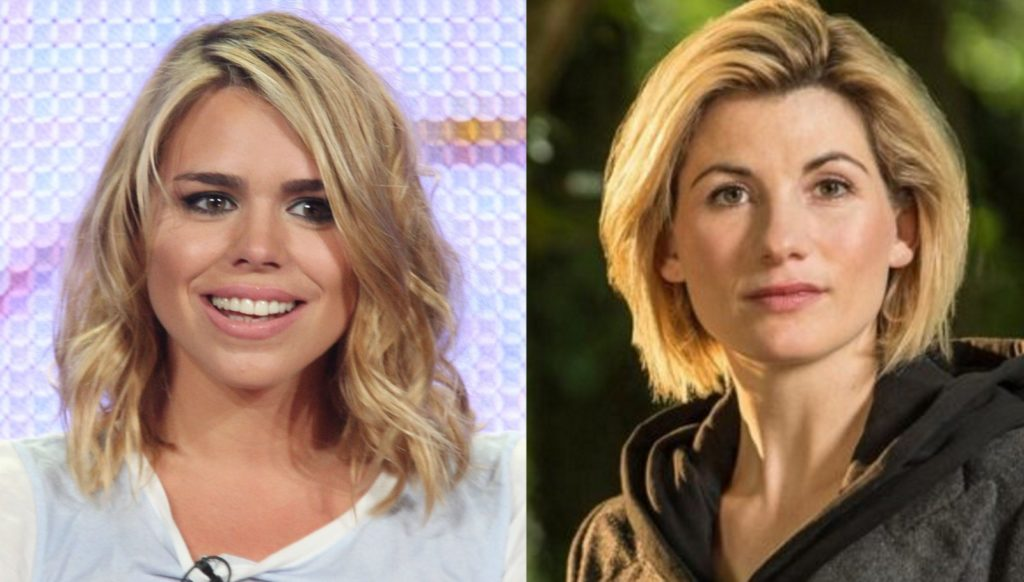 billie piper jodie whittaker doctor who bbc and getty
