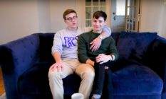 Gay porn star Blake Mitchell and his boyfriend Chad Alec