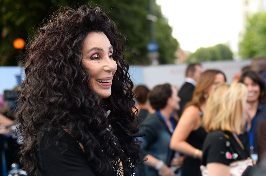 """Cher attends the """"Mamma Mia! Here We Go Again"""" world premiere. The star has announced that a biopic and memoir are in the works."""