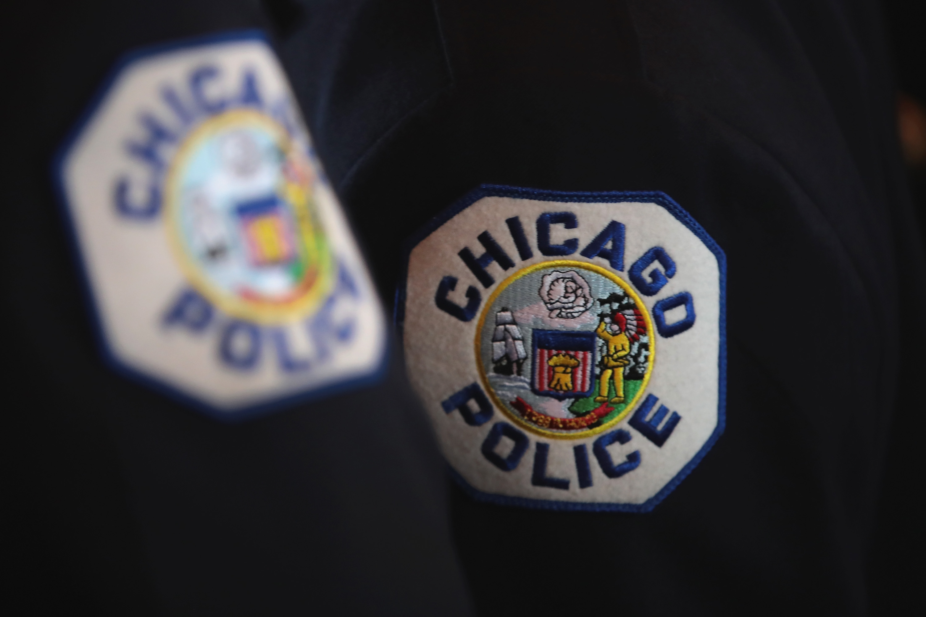 File photo. Chicago police officers attend a graduation and promotion ceremony in the Grand Ballroom on Navy Pier on June 15, 2017 in Chicago, Illinois.