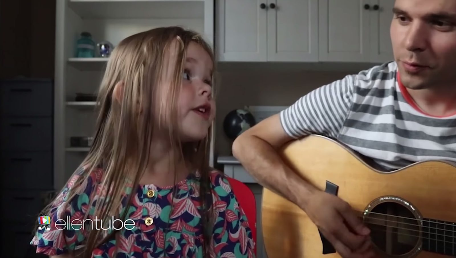 Claire and the Crosbys on Ellen