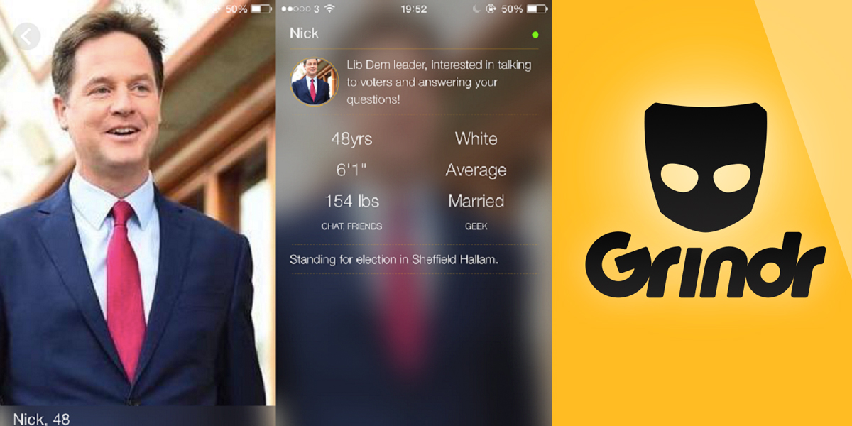 to the PinkNews reached out to gay dating app Grindr
