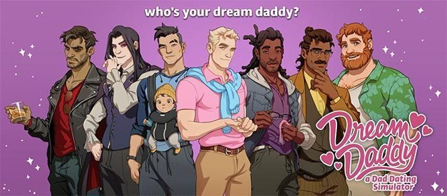 Dream Daddy: A Dad Dating Simulator lets you date hot dads as a hot dad