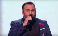 "Gay X Factor star Danny Tetley performed ""My Heart Will Go On."""