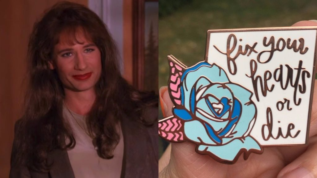 David Duchovny in Twin Peaks and Fix Your Heart or Die