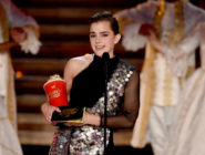 Emma Watson accepts Best Actor in a Movie at the MTV Awards