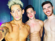 Frankie Grande says he's been dating married couple Daniel Sinasohn and Mike Pophis