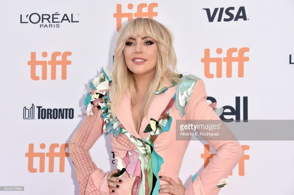 """attends the """"Gaga: Five Foot Two"""" premiere during the 2017 Toronto International Film Festival at Princess of Wales Theatre on September 8, 2017 in Toronto, Canada."""