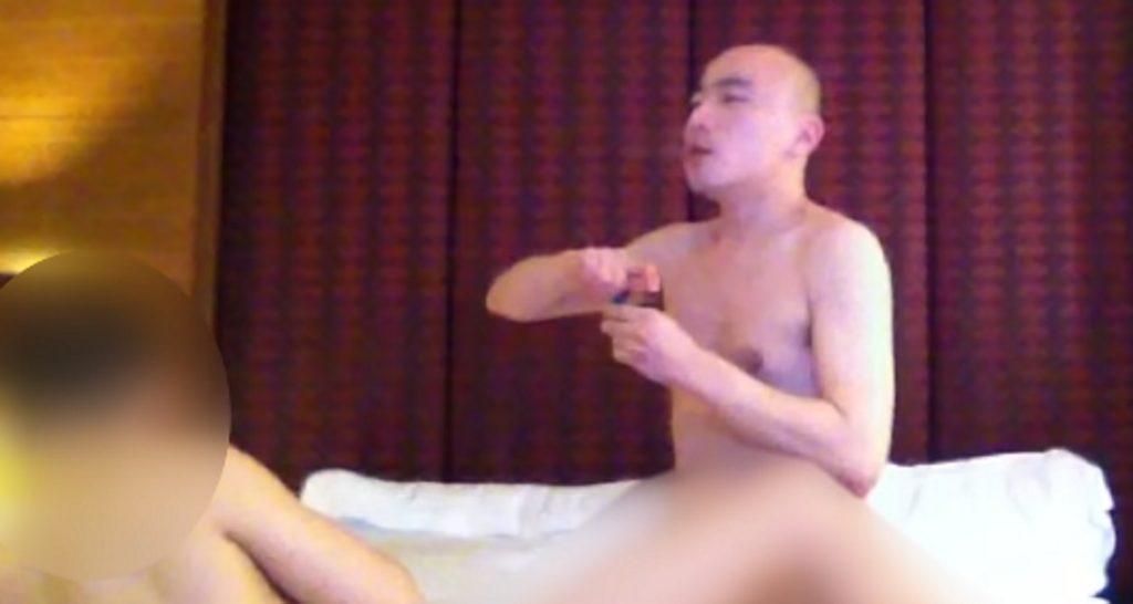 Buddhist monk smokes meth during gay sex session